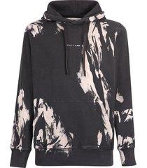 1017 alyx 9sm printed cotton hoodie