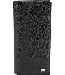 baliro leather bi-fold wallet