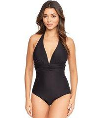 tuscany tummy control one-piece swimsuit