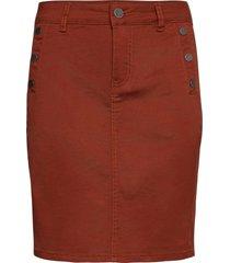 frlomax 3 skirt kort kjol röd fransa