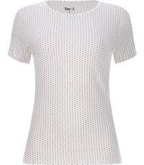 camiseta viscosa puntos
