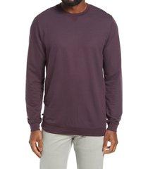men's travismathew carlin pullover, size xx-large - blue