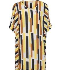 galene kort klänning multi/mönstrad masai