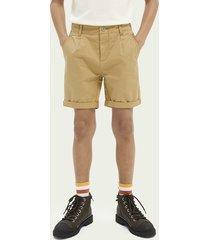 scotch & soda cotton-blend shorts