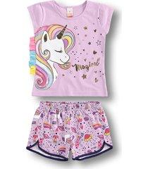 pijama marisol roxo
