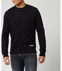 dsquared2 men's crewneck sweatshirt - black - l