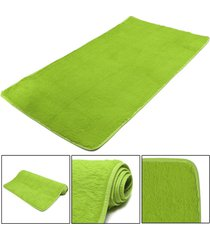 mat moda dormitorio estera del piso mullido manta antideslizante salón del hogar del amortiguador alfombra negro - pasto verde