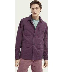 scotch & soda lightweight organic cotton-blend worker jacket