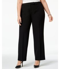 kasper plus size modern dress pants