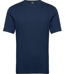 cl f small vector tee t-shirts short-sleeved blå reebok classics
