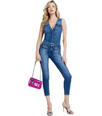 enterito layla jumpsuit denim guess