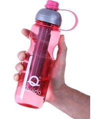 squeeze cooler líquido rosa único