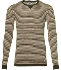 sale - dstrezzed pullover - slim fit - groen