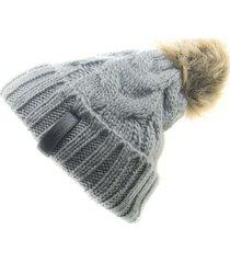 gorro de lana beanie redifined gris flaw