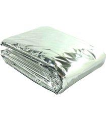 cobertor de emergência alumínio - sister outdoors sisblankt