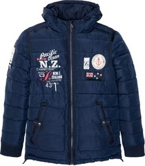 giacca trapuntata con stampe (blu) - bpc selection