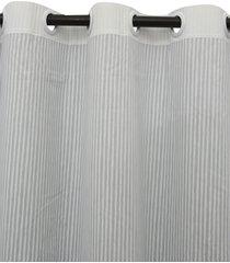 cortina  santista 180x280 londres vick cinza - cinza - dafiti