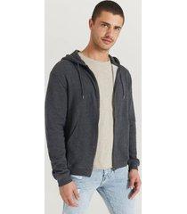 tröja andy zip hoodie