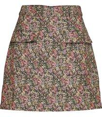 enagate skirt 6689 kort kjol multi/mönstrad envii
