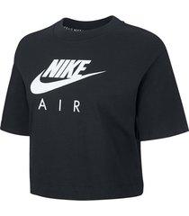 t-shirt korte mouw nike air ss top women