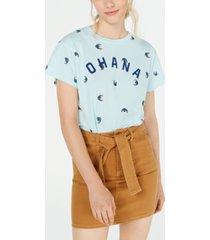 disney juniors' stitch ohana graphic t-shirt by jerry leigh