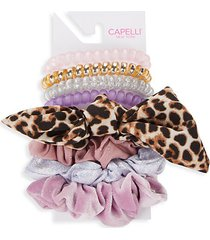 kid's 8-piece hair tie set