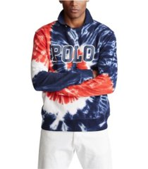 polo ralph lauren men's tie-dye terry sweatshirt