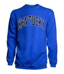 top of the world men's kentucky wildcats crewneck sweatshirt