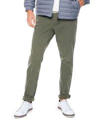 pantalón verde tommy hilfiger