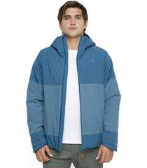 chaqueta impermeable navarino azul andesgear