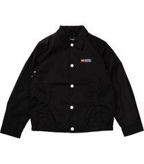 diesel shirt jacket with black buttons