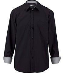 overhemd men plus zwart