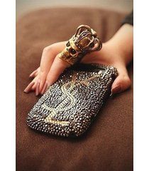 bling personalized iphone 8 case gray crystal handmade custom iphone 8 x case