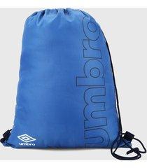tula azul-blanco-negro umbro essential gymsack