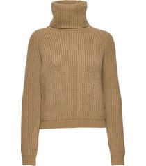 benette knit turtleneck polotröja brun andiata