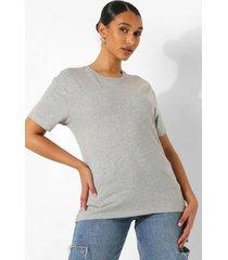 oversized t-shirt, grey marl