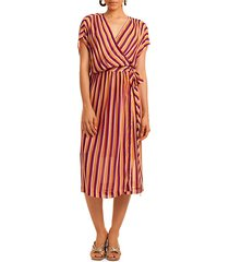 california dreaming chiapas wrap dress