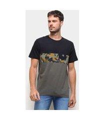 camiseta quiksilver microdose masculina
