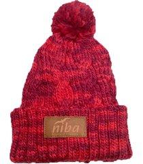 gorro de lana archibueno rojo niba