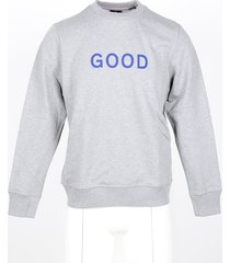 paul smith designer sweatshirts, men's blue / gray sweatshirt