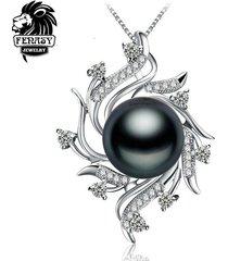 fenasy bohemian necklace pearl jewelry necklaces & pendants pearl brand fashion