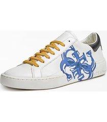 skórzane sneakersy z logo 4g model verona