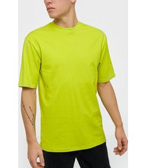 only & sons onsdonnie reg tee noos t-shirts & linnen ljus gul