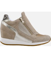 geox nydame sneakers con zeppa