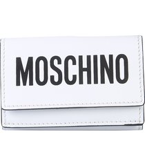 moschino designer wallets, leather wallet