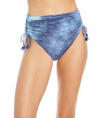 women's isabella rose torino high waist tie dye bikini bottoms