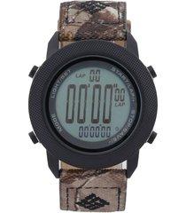 reloj  negro-verde columbia