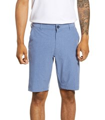 men's 7 diamonds aeroplane slim fit hybrid shorts, size 30 - blue