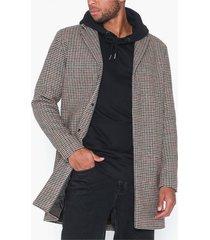 selected homme slhbrove wool coat b jackor grey melange