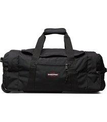 leatherface s + bags weekend & gym bags zwart eastpak